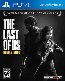 Box art for the game The Last of Us Remastered