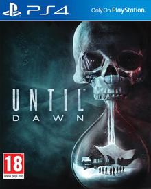 Box art for the game Until Dawn