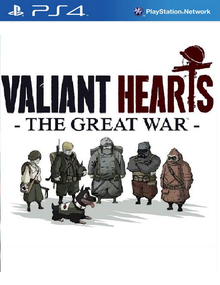 Box art for the game Valiant Hearts: The Great War