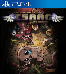Box art for the game The Binding of Isaac: Rebirth
