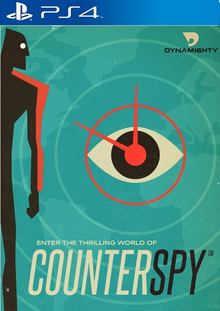 Box art for the game CounterSpy