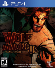 Box art for the game The Wolf Among Us