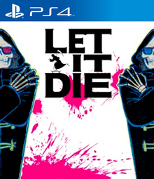 Box art for the game Let It Die
