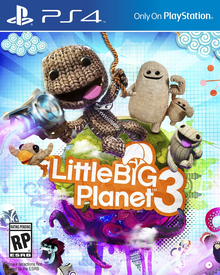 Box art for the game LittleBigPlanet 3