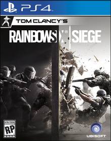 Box art for the game Tom Clancy's Rainbow Six Siege
