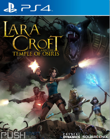 Box art for the game Lara Croft and the Temple of Osiris