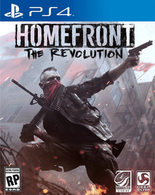 Box art for the game Homefront: The Revolution