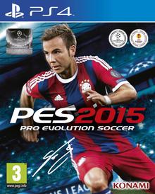 Box art for the game Pro Evolution Soccer 2015