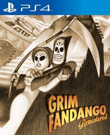 Box art for the game Grim Fandango