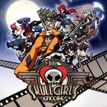 Box art for the game Skullgirls Encore