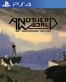 Box art for the game Another World: 20th Anniversary Edition