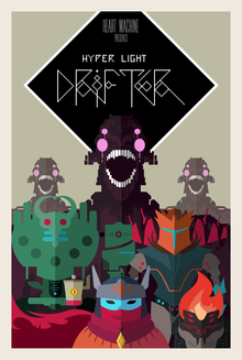 Box art for the game Hyper Light Drifter