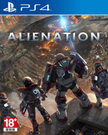 Box art for the game Alienation
