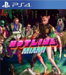 Box art for the game Hotline Miami
