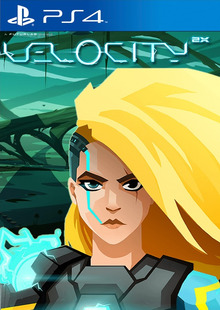 Box art for the game Velocity 2X