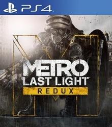 Box art for the game Metro Last Light Redux