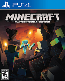 Box art for the game Minecraft - Playstation 4 Edition