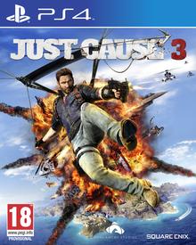 Capa do jogo Just Cause 3