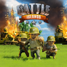 Box art for the game Battle Islands