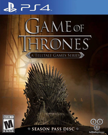Box art for the game Game of Thrones - A Telltale Games Series