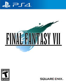 Box art for the game Final Fantasy VII