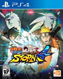 Box art for the game Naruto Shippuden: Ultimate Ninja Storm 4