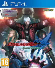 Box art for the game Devil May Cry 4: Special Edition