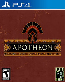 Box art for the game Apotheon
