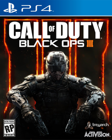 Box art for the game Call of Duty: Black Ops 3