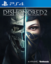 Box art for the game Dishonored 2