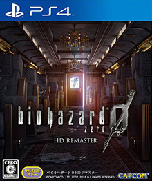 Box art for the game Resident Evil Zero HD Remaster