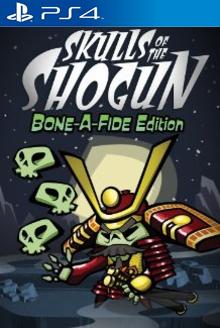 Box art for the game Skulls of the Shogun: Bone-a-Fide Edition