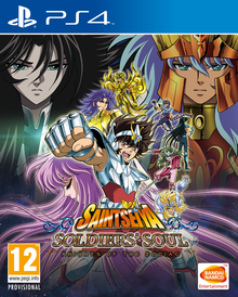 Box art for the game Saint Seiya: Soldiers' Soul
