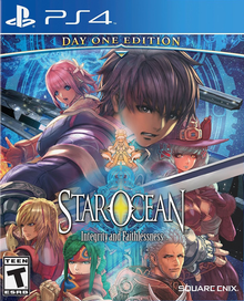Box art for the game Star Ocean Integrity and Faithlessness