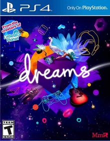 Box art for the game Dreams