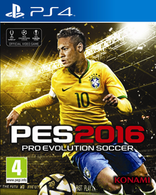 Box art for the game Pro Evolution Soccer 2016