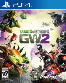 Box art for the game Plants vs. Zombies: Garden Warfare 2