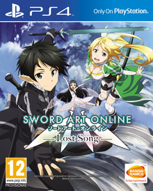 Box art for the game Sword Art Online: Lost Song