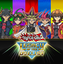 Box art for the game Yu-Gi-Oh! Legacy of the Duelist