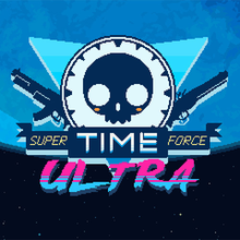 Box art for the game Super Time Force Ultra