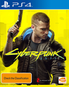 Box art for the game Cyberpunk 2077
