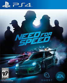Box art for the game Need For Speed