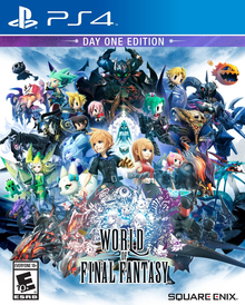 Box art for the game World Of Final Fantasy