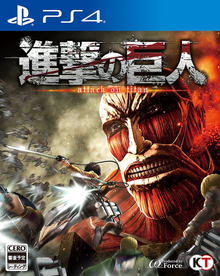 Capa do jogo Attack on Titan