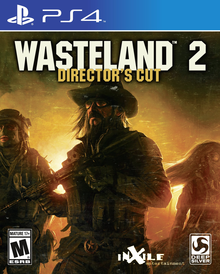 Box art for the game Wasteland 2: Director's Cut