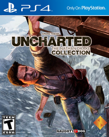 Box art for the game Uncharted 2: Among Thieves Remastered