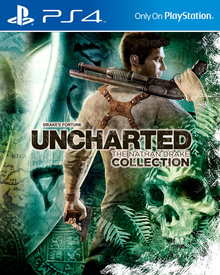 Box art for the game Uncharted: Drake's Fortune Remastered