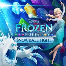 Box art for the game Frozen Free Fall: Snowball Fight