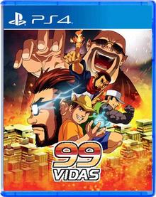 Box art for the game 99Vidas - O Jogo