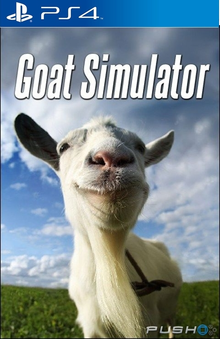 Box art for the game Goat Simulator